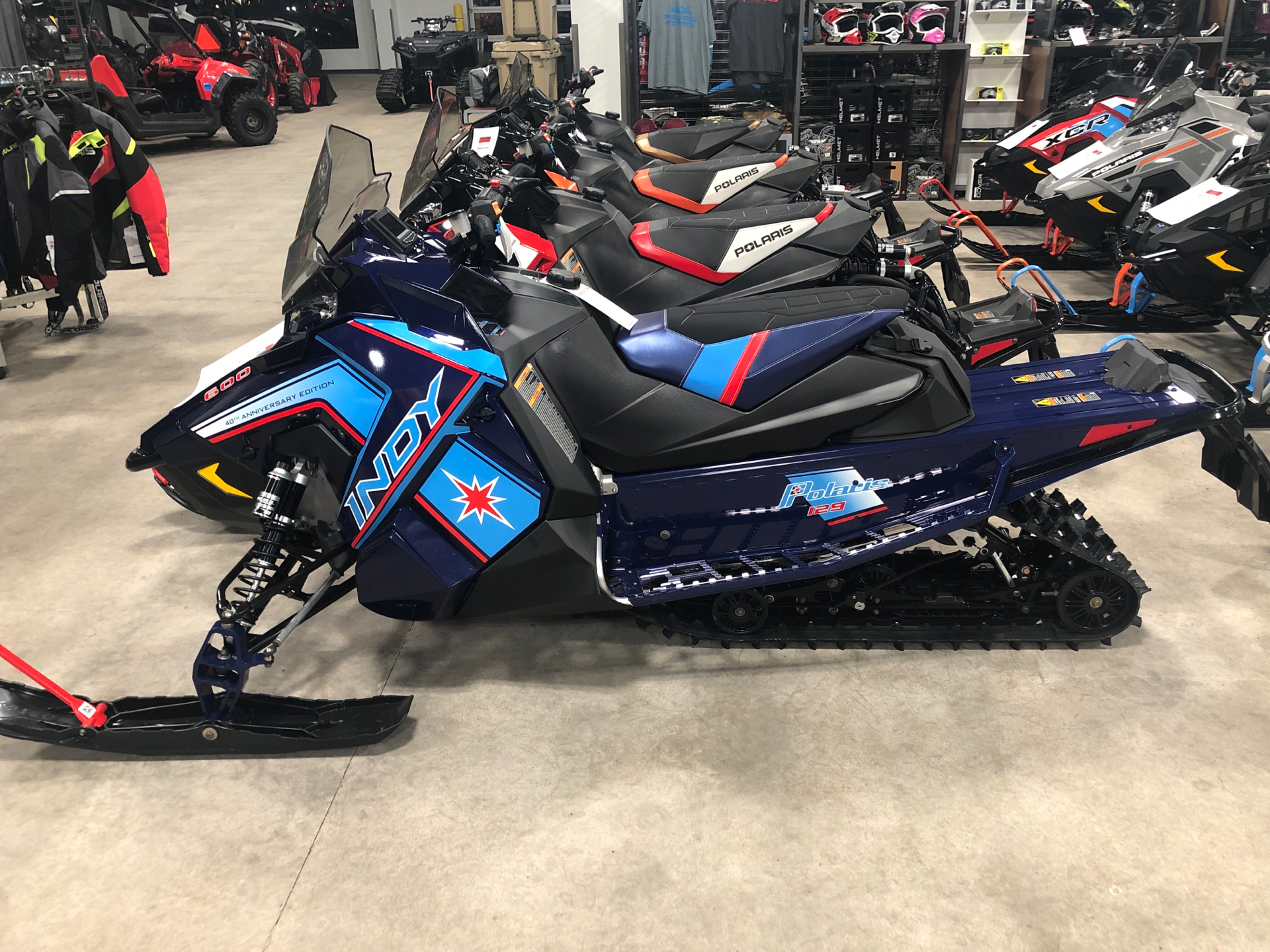 2020 Polaris 600 Indy XC 129 SC in Rothschild, Wisconsin - Photo 1