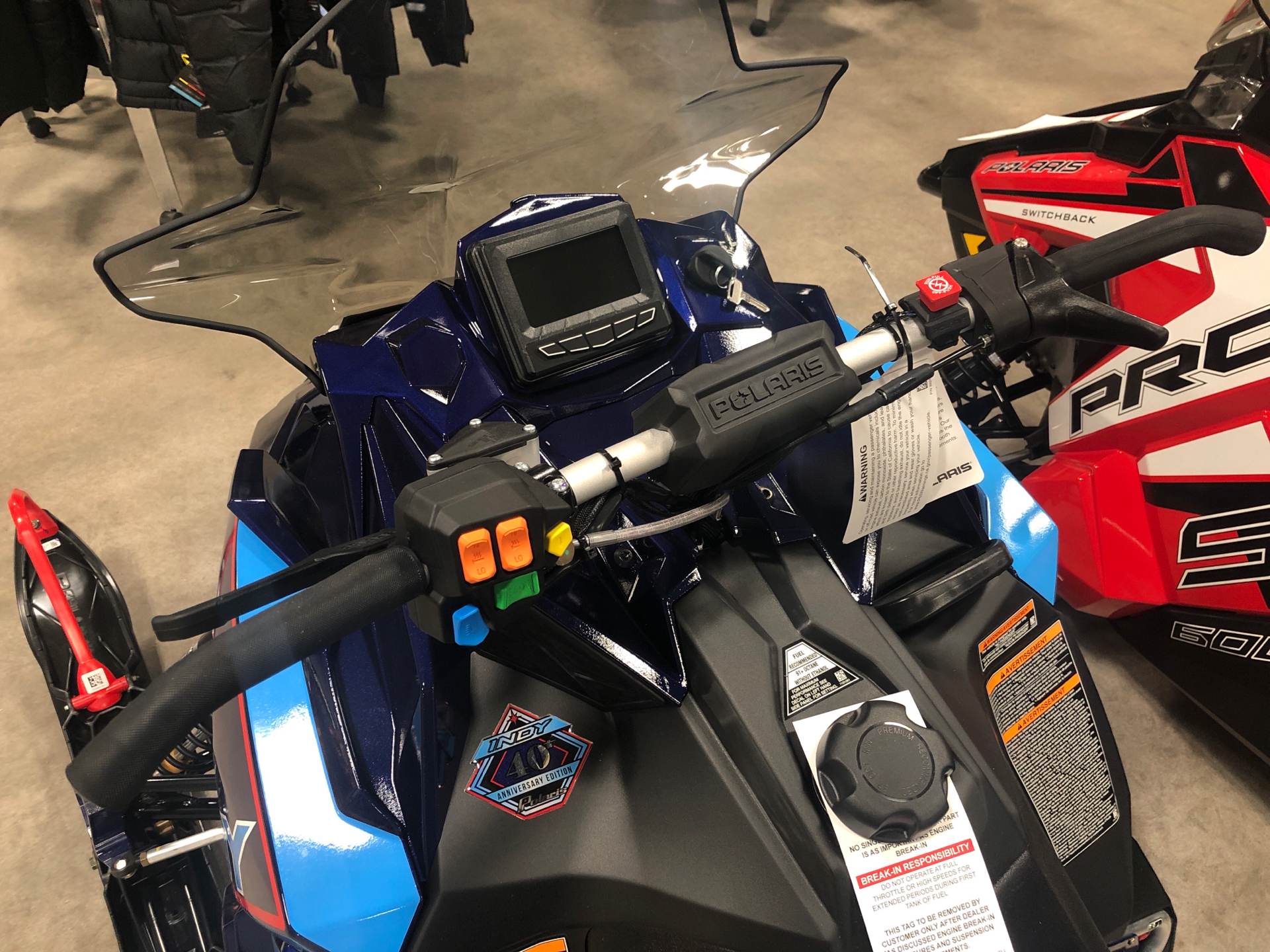 2020 Polaris 600 Indy XC 129 SC in Rothschild, Wisconsin - Photo 2