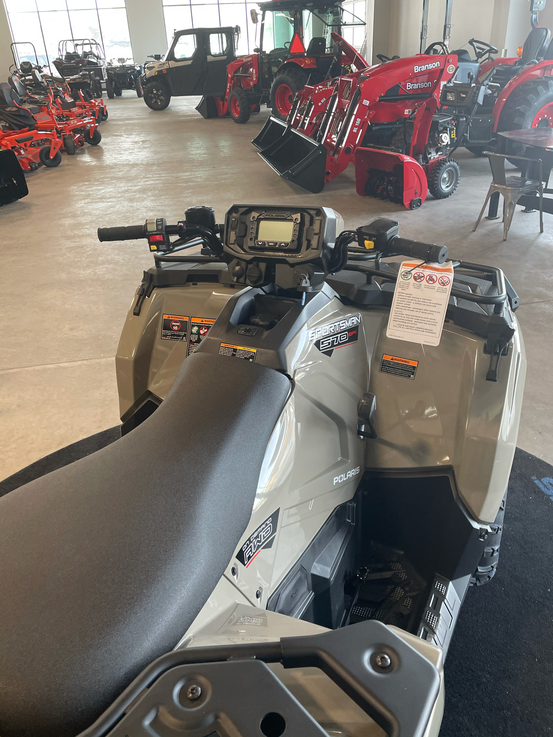 2021 Polaris Sportsman 570 EPS Utility Package in Rothschild, Wisconsin - Photo 4