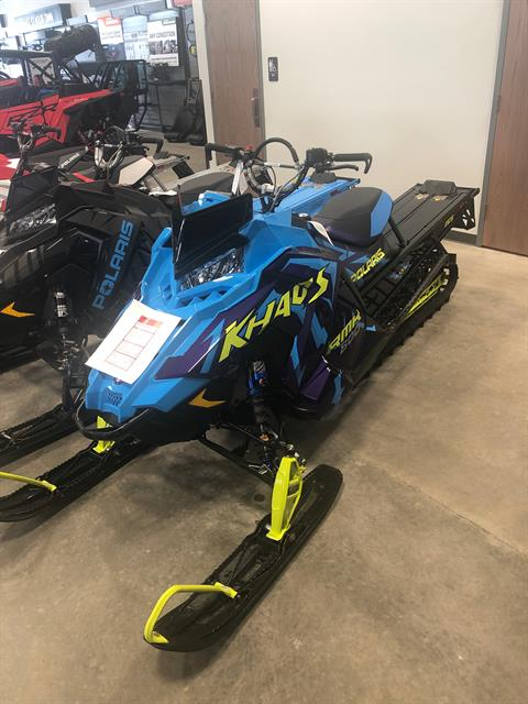 2020 Polaris 800 RMK KHAOS 155 SC in Rothschild, Wisconsin - Photo 1