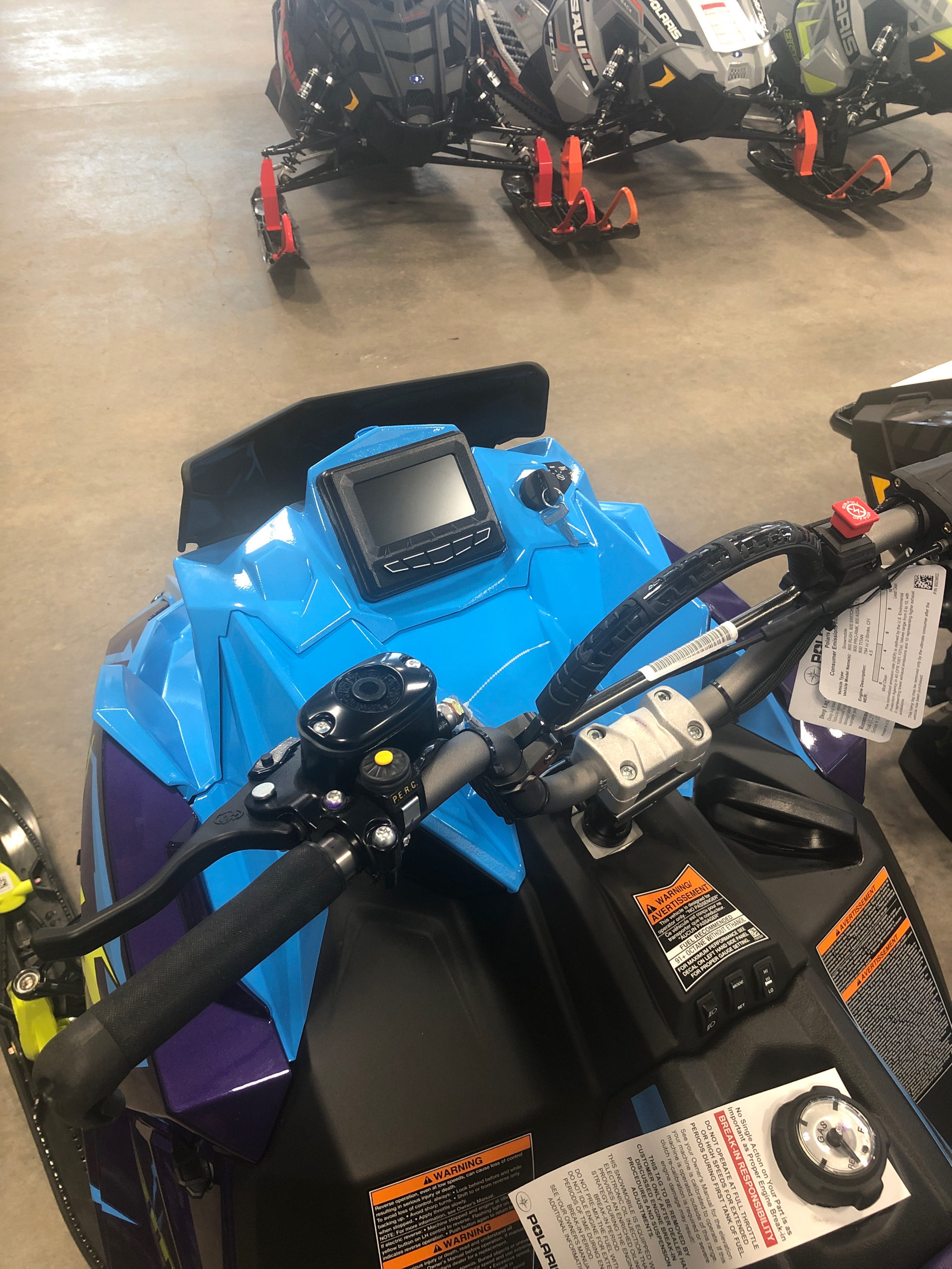 2020 Polaris 800 RMK KHAOS 155 SC in Rothschild, Wisconsin - Photo 2
