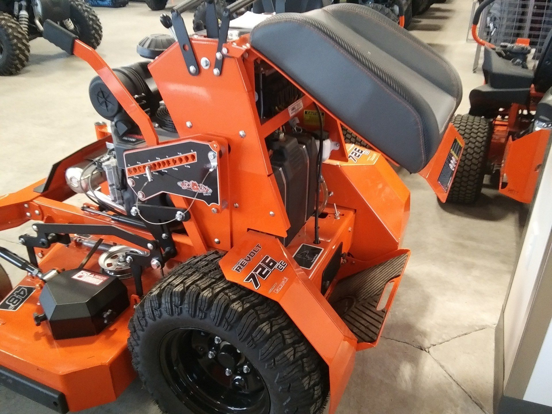 2019 Bad Boy Mowers Revolt 48 in. Kawasaki FX 23.5 hp in Rothschild, Wisconsin - Photo 6