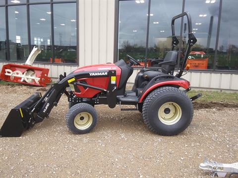2019 Yanmar SA424 SA Series Compact Diesel Tractor in Rothschild, Wisconsin - Photo 1