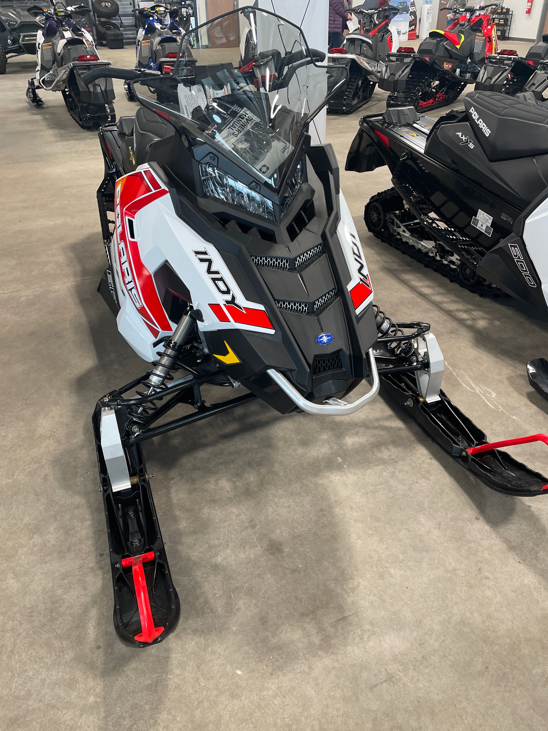 2021 Polaris 600 Indy SP 129 ES in Rothschild, Wisconsin - Photo 2