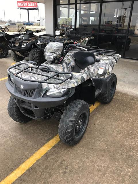 2013 Suzuki KingQuad® 750AXi Camo Power Steering in El Campo, Texas