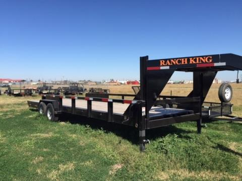 "2015 Ranch King 28' X 6'10"" Goosneck Trailer w/SR in El Campo, Texas"
