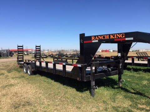 "2015 Ranch King 28' X 6'10"" Gooseneck w/FR in El Campo, Texas"