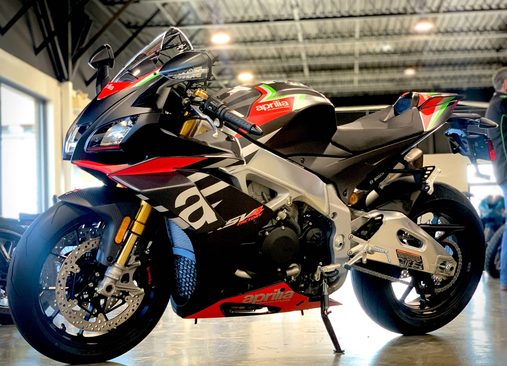 2020 Aprilia RSV4 1100 Factory in Plano, Texas - Photo 2