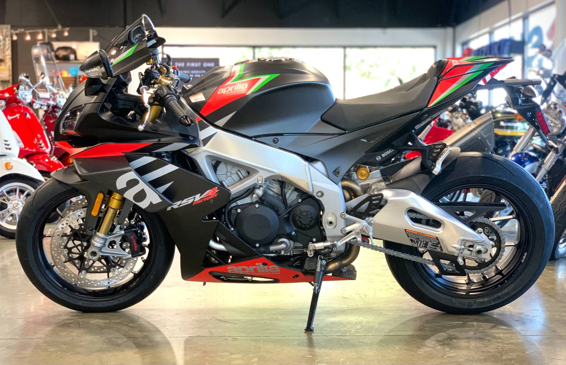 2020 Aprilia RSV4 1100 Factory in Plano, Texas - Photo 7