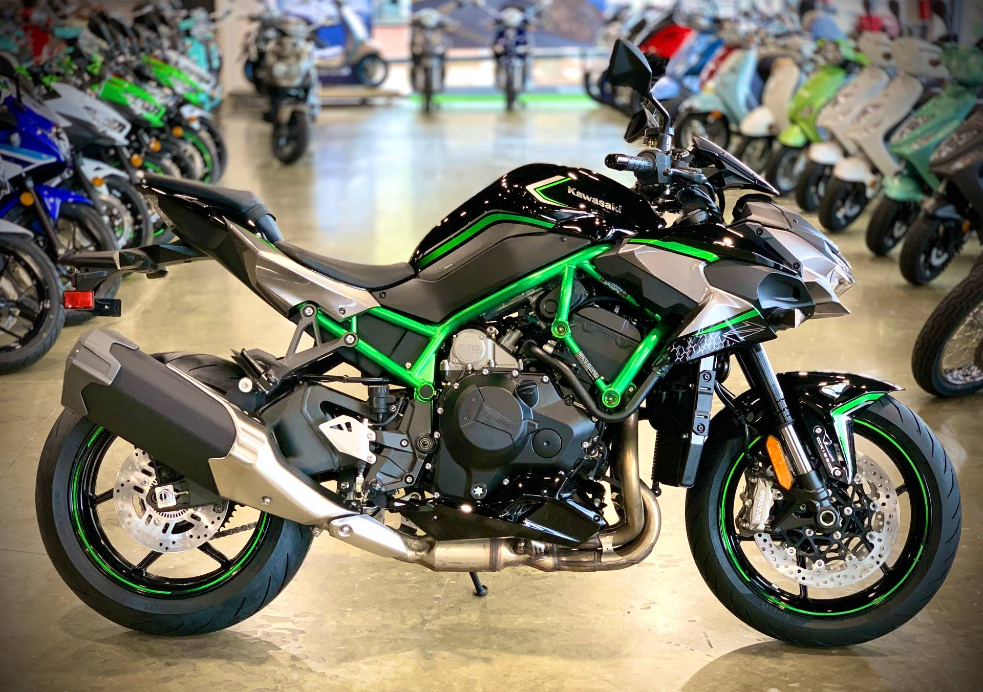 2020 Kawasaki Z H2 in Plano, Texas - Photo 1