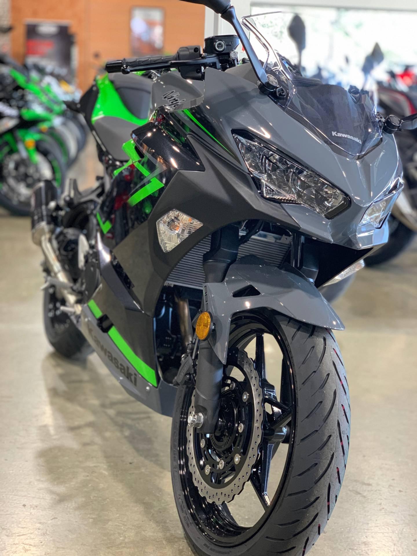 New 2019 Kawasaki Ninja 400 Abs Motorcycles In Plano Tx Na