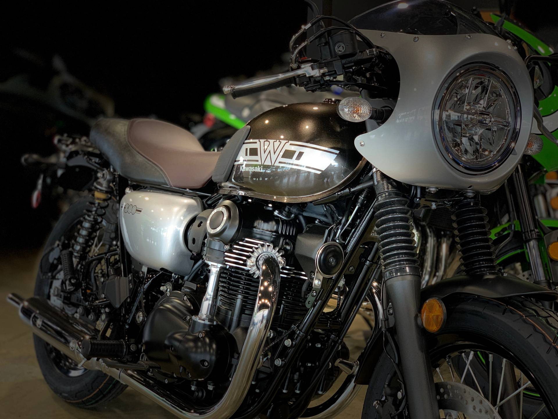 2019 Kawasaki W800 CAFE in Plano, Texas - Photo 1