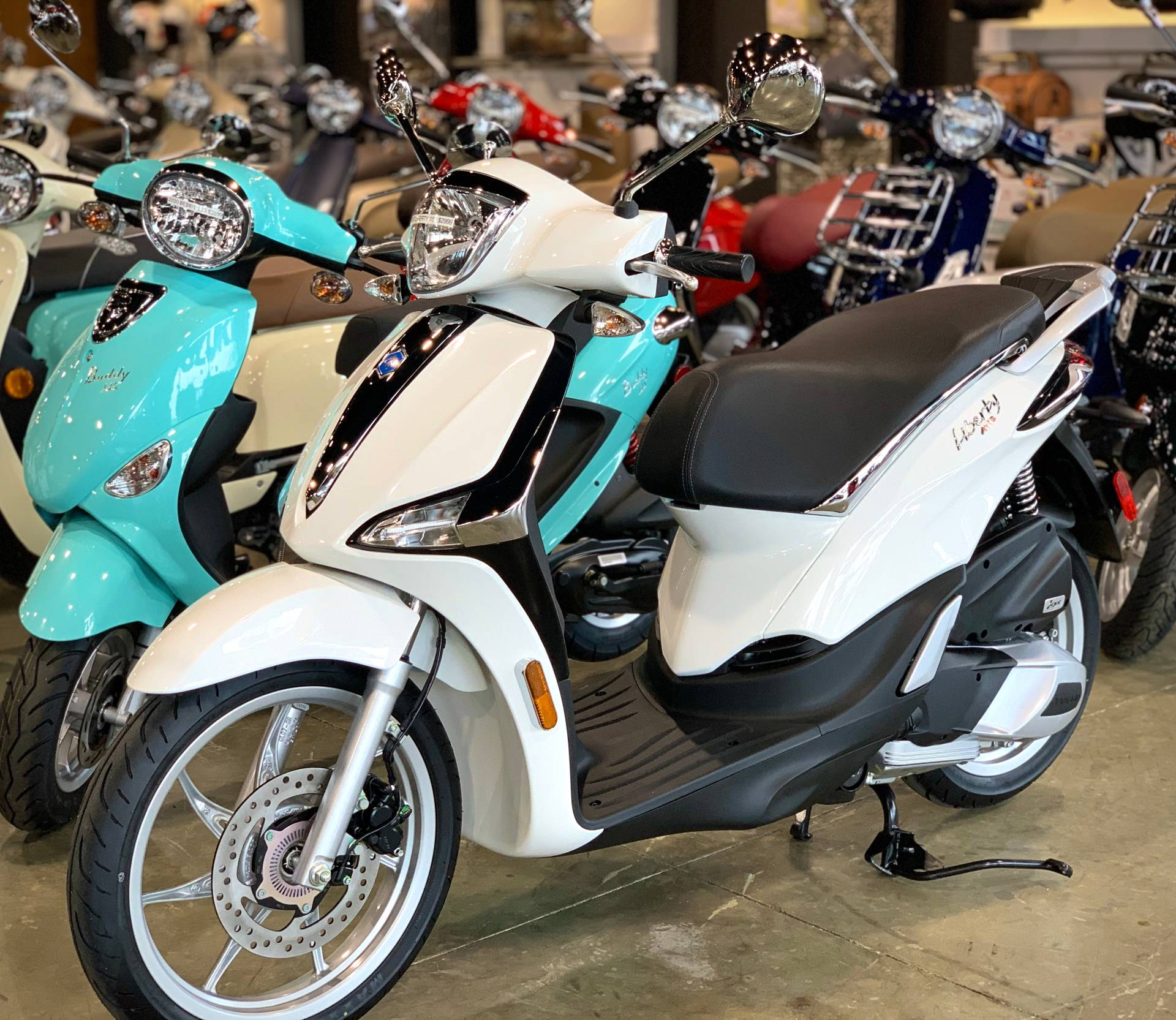 2020 Piaggio Liberty 150 in Plano, Texas - Photo 1