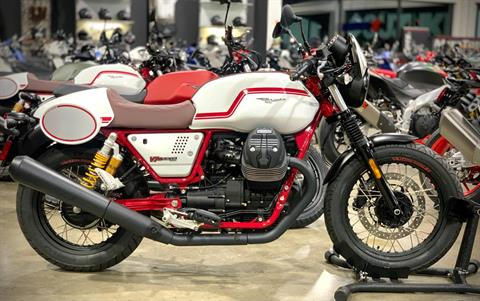 2020 Moto Guzzi V7 III Racer LE in Plano, Texas - Photo 1