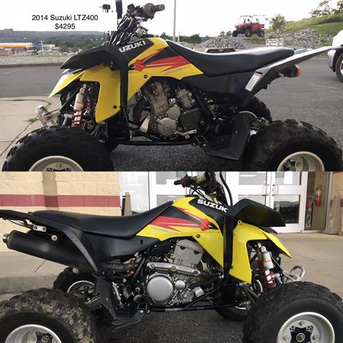 2014 Suzuki QuadSport® Z400 in Everett, Pennsylvania - Photo 1