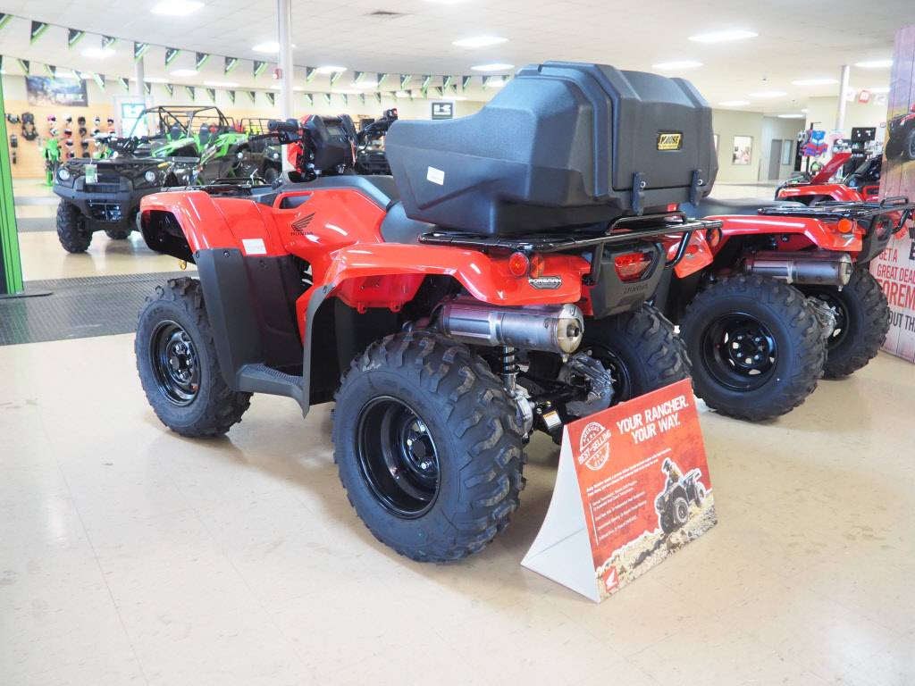 2021 Honda FourTrax Foreman 4x4 in Everett, Pennsylvania - Photo 4
