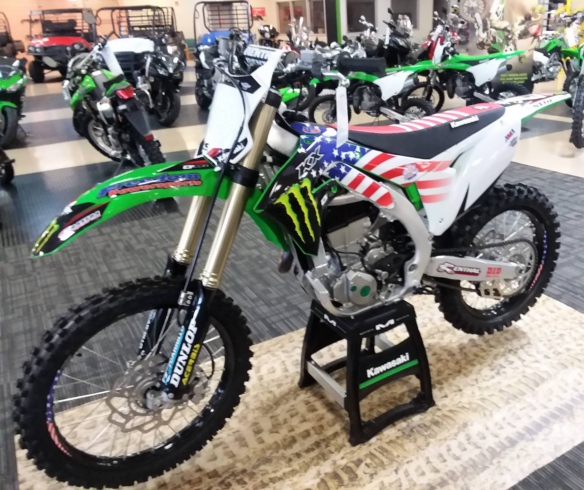 2019 Kawasaki KA450JKF in Everett, Pennsylvania