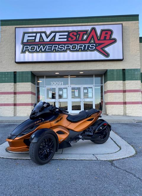 2011 Can-Am Spyder® RS-S SE5 in Everett, Pennsylvania - Photo 1