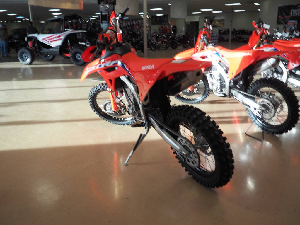 2021 Honda CRF450RX in Everett, Pennsylvania - Photo 3