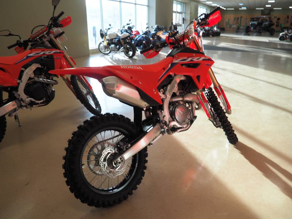 2021 Honda CRF450RX in Everett, Pennsylvania - Photo 4