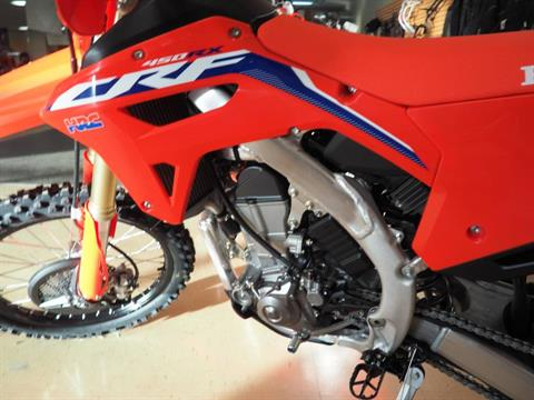 2021 Honda CRF450RX in Everett, Pennsylvania - Photo 6