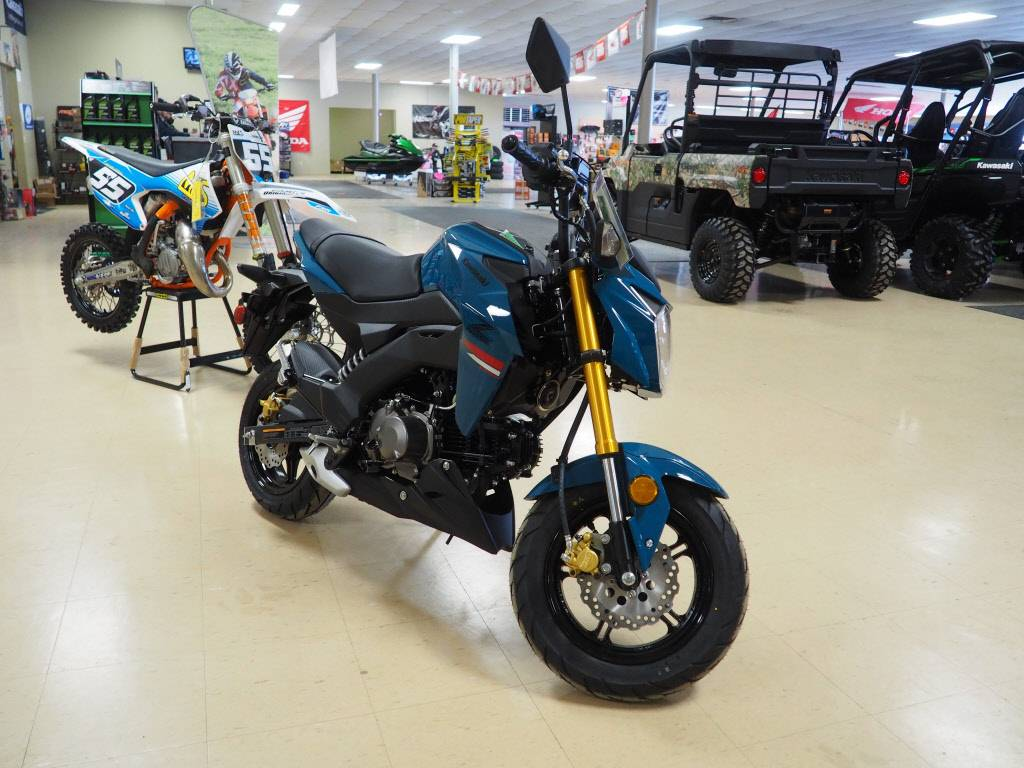 2021 Kawasaki Z125 Pro in Everett, Pennsylvania - Photo 1