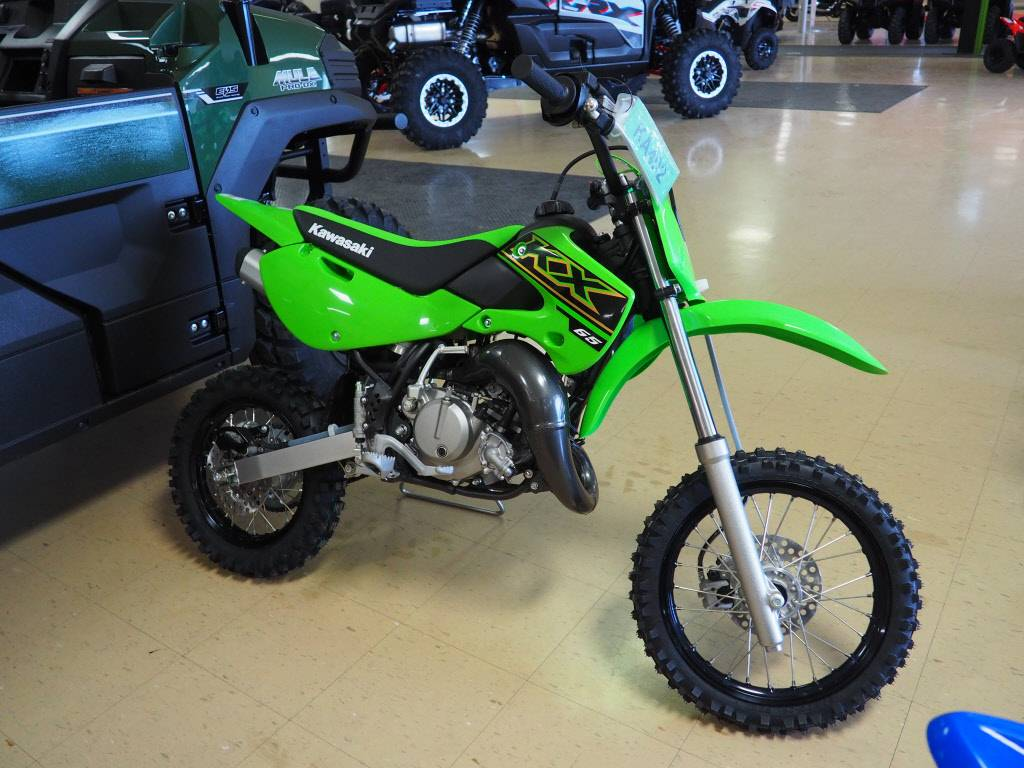 2021 Kawasaki KX 65 in Everett, Pennsylvania - Photo 1