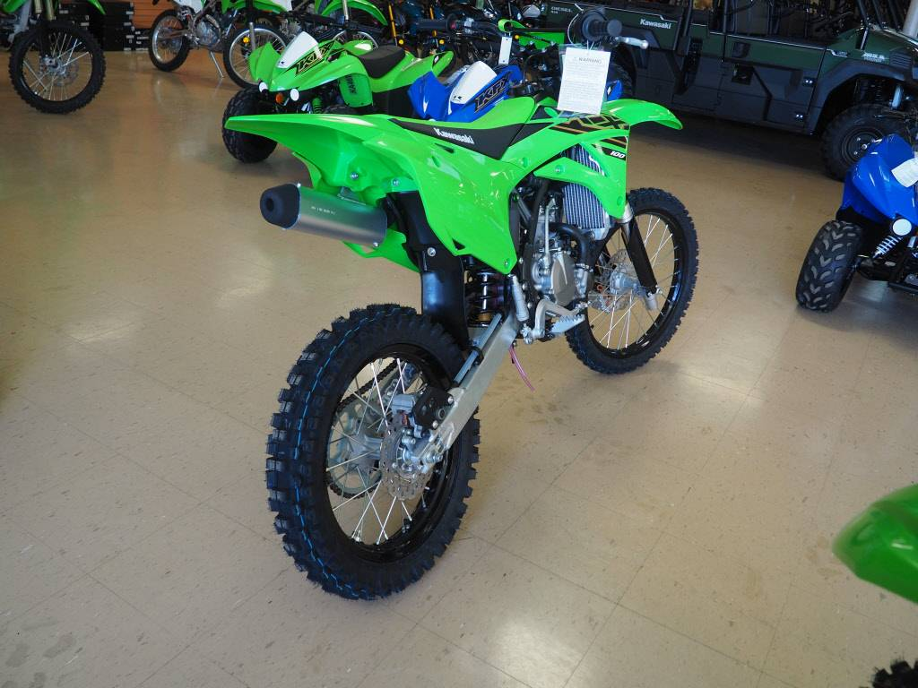 2021 Kawasaki KX 100 in Everett, Pennsylvania - Photo 3