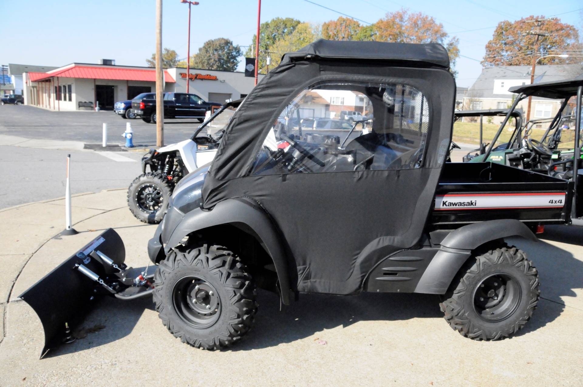 2016 Kawasaki Mule 610 4x4 XC in South Charleston, West Virginia