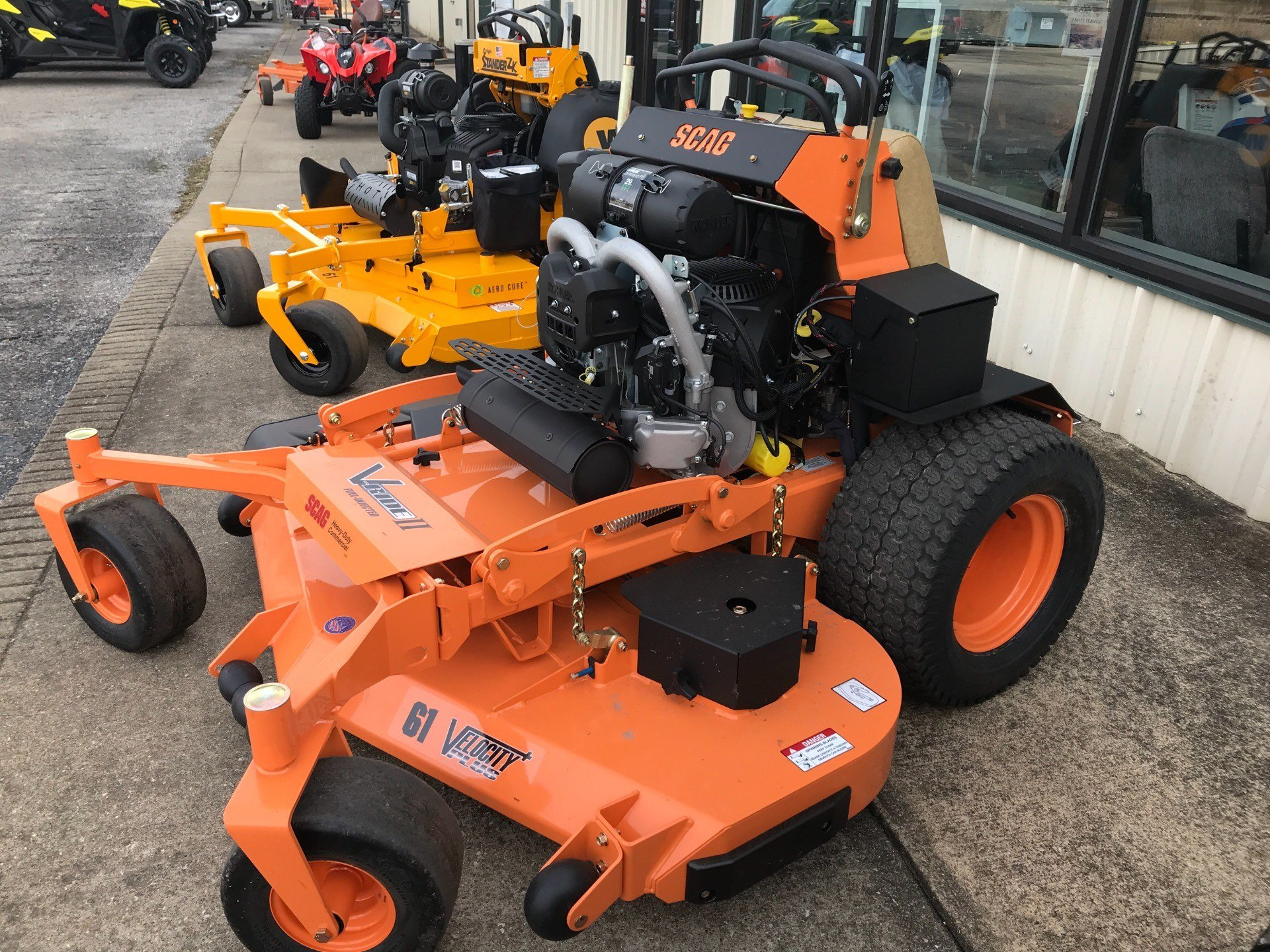2018 SCAG Power Equipment V-Ride II 61 in. 29hp in Glasgow, Kentucky