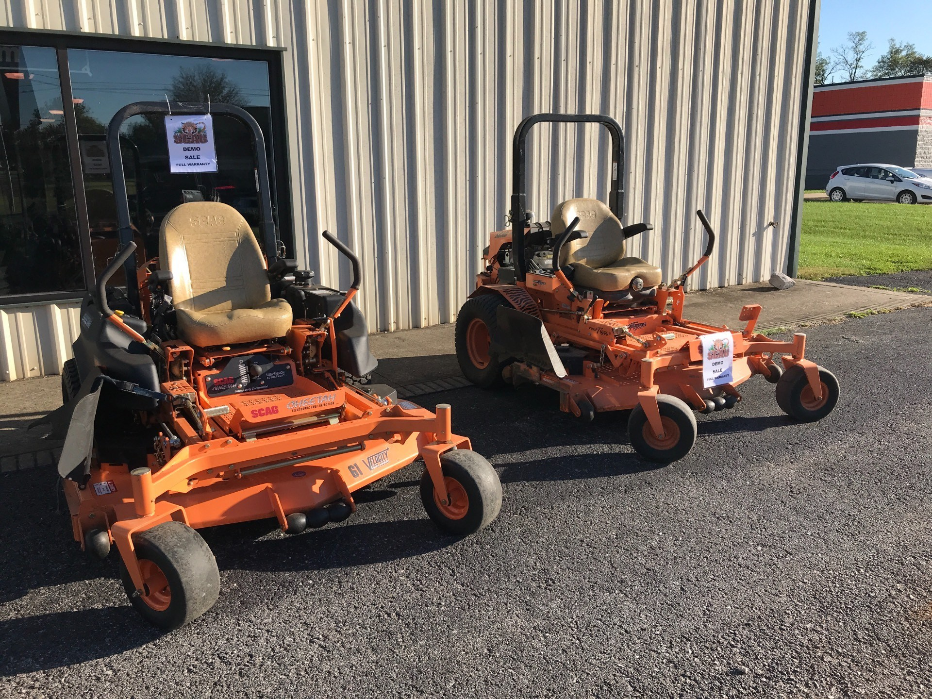 2017 SCAG Power Equipment Scag DEMO MODELS in Glasgow, Kentucky