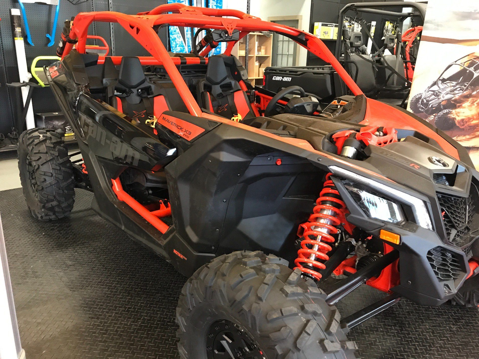 2018 Can-Am Maverick X3 X rs Turbo R in Glasgow, Kentucky - Photo 1