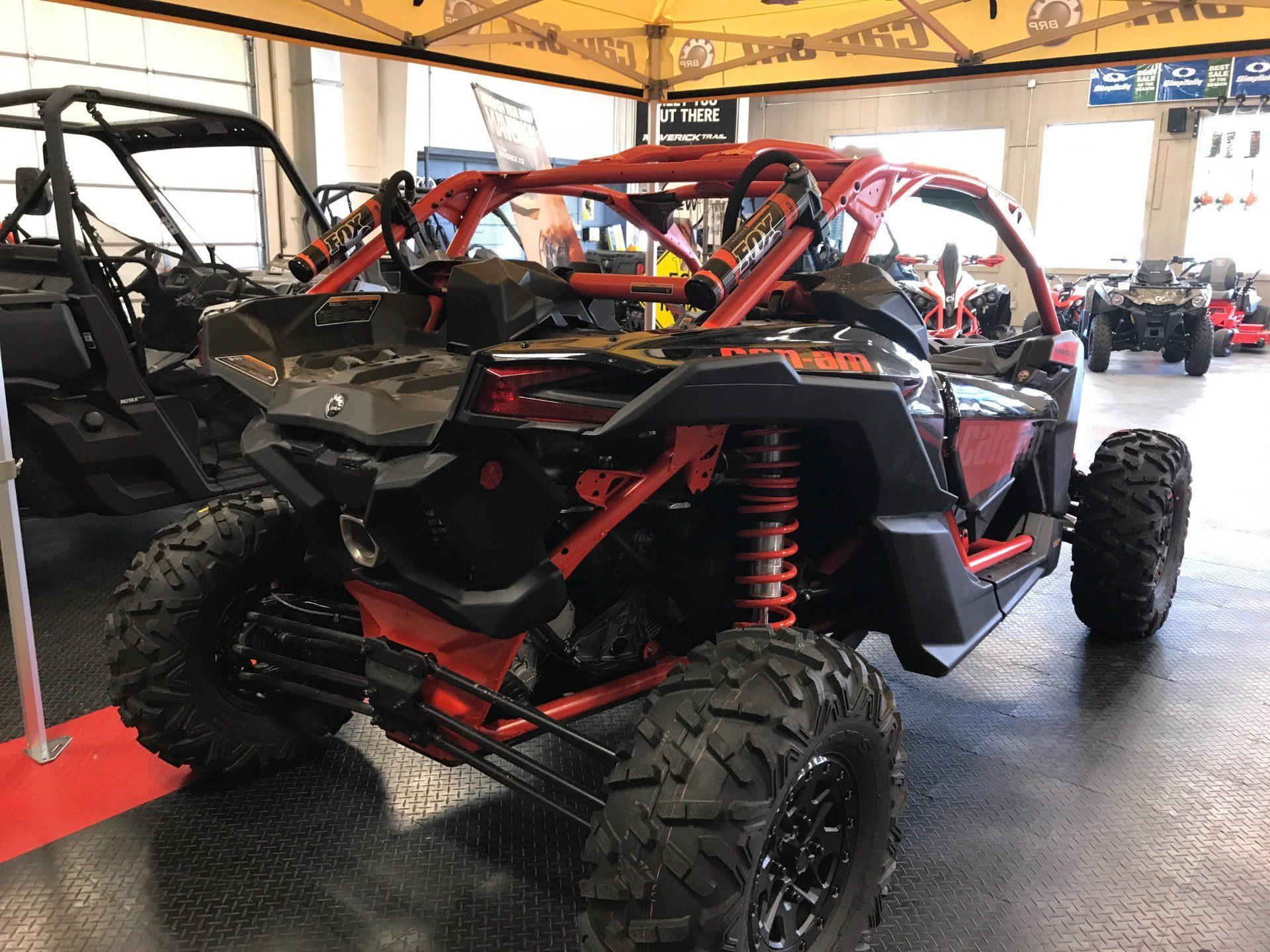 2018 Can-Am Maverick X3 X rs Turbo R in Glasgow, Kentucky - Photo 3
