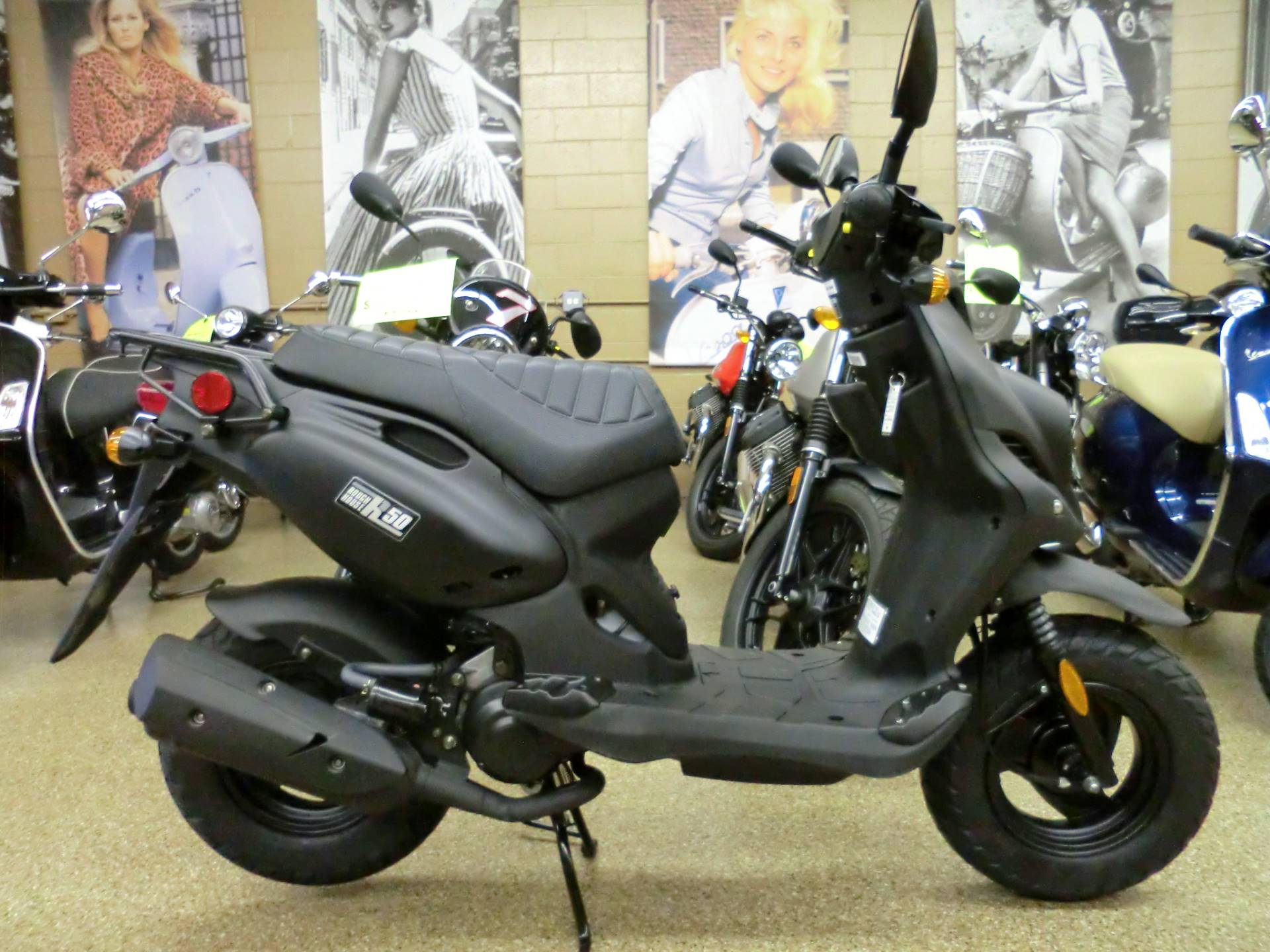 2017 Genuine Scooters Roughhouse 50 in Downers Grove, Illinois