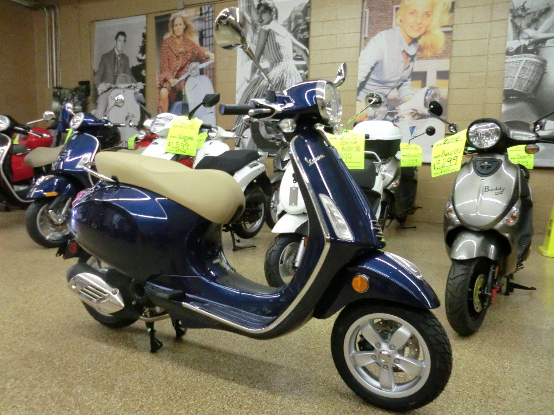 2016 Vespa Primavera 50 for sale 10879