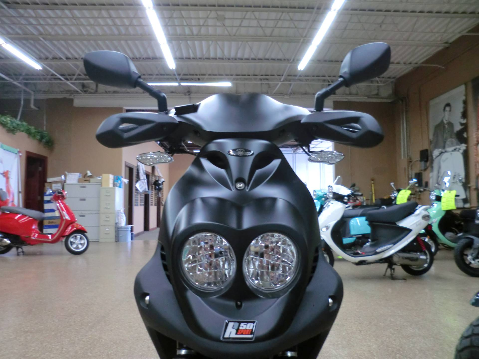 2019 Genuine Scooters Roughhouse 50 Sport in Downers Grove, Illinois - Photo 2