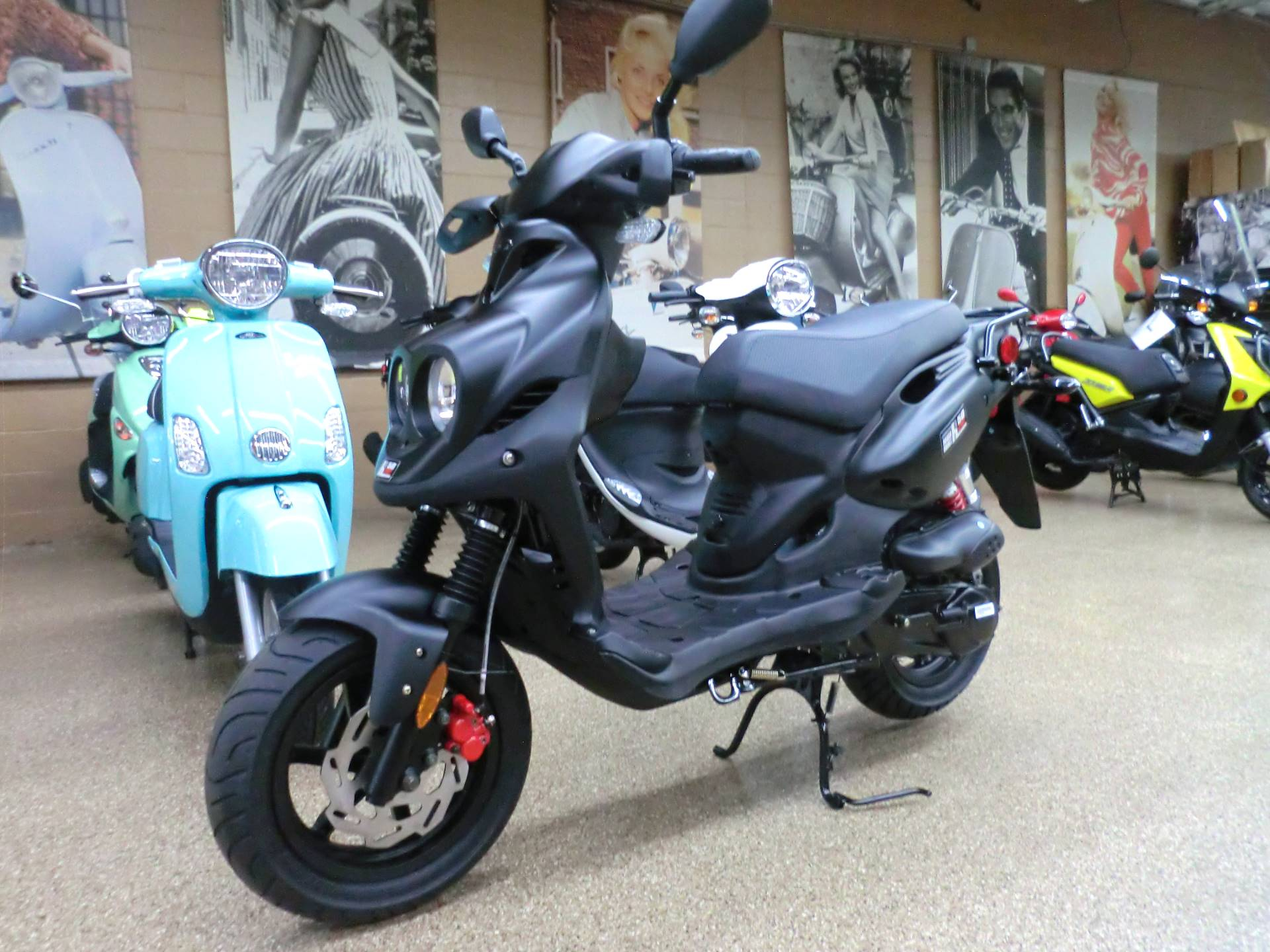 2019 Genuine Scooters Roughhouse 50 Sport in Downers Grove, Illinois - Photo 3