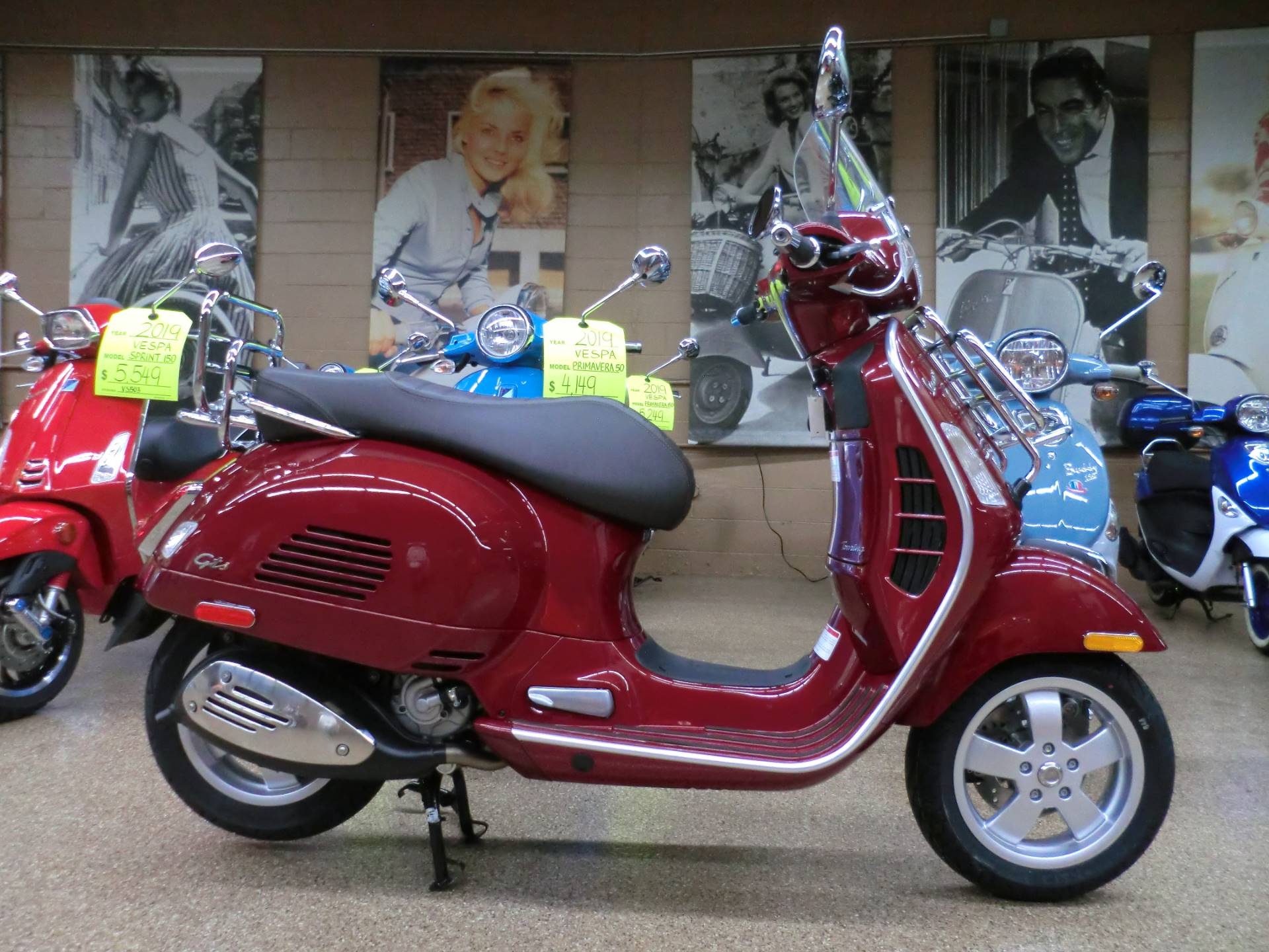 new 2019 vespa gts touring 300 scooters in downers grove. Black Bedroom Furniture Sets. Home Design Ideas