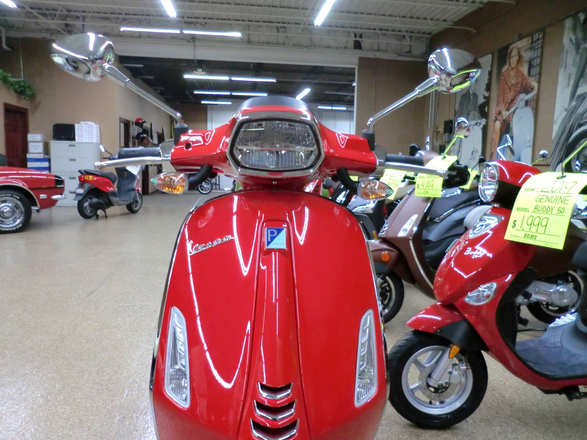 2020 Vespa Sprint 50 in Downers Grove, Illinois - Photo 2