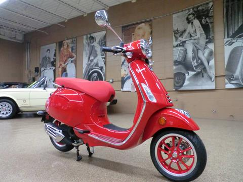 2021 Vespa Primavera 50 iGet Red in Downers Grove, Illinois - Photo 1