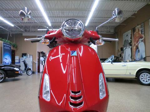 2021 Vespa Primavera 50 iGet Red in Downers Grove, Illinois - Photo 2