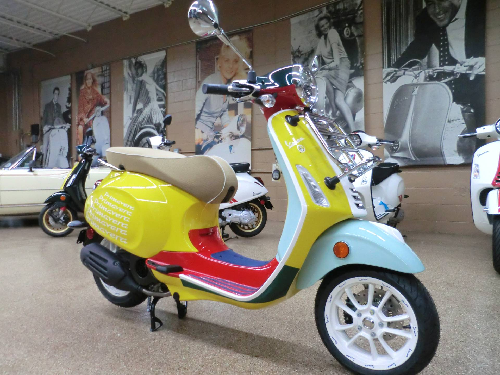 2021 Vespa Primavera Sean Wotherspoon 150 in Downers Grove, Illinois - Photo 1
