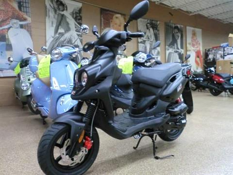2017 Genuine Scooters Roughhouse 50 Sport in Downers Grove, Illinois