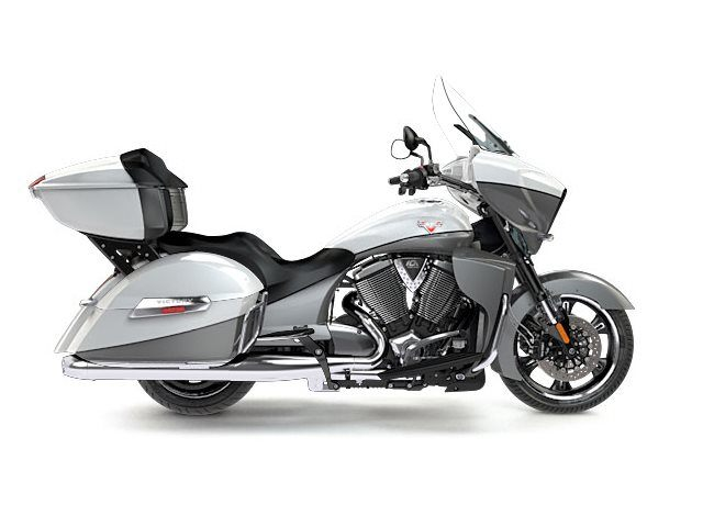 2016 Victory Cross Country Tour White Pearl / Super Steel Grey in Pensacola, Florida