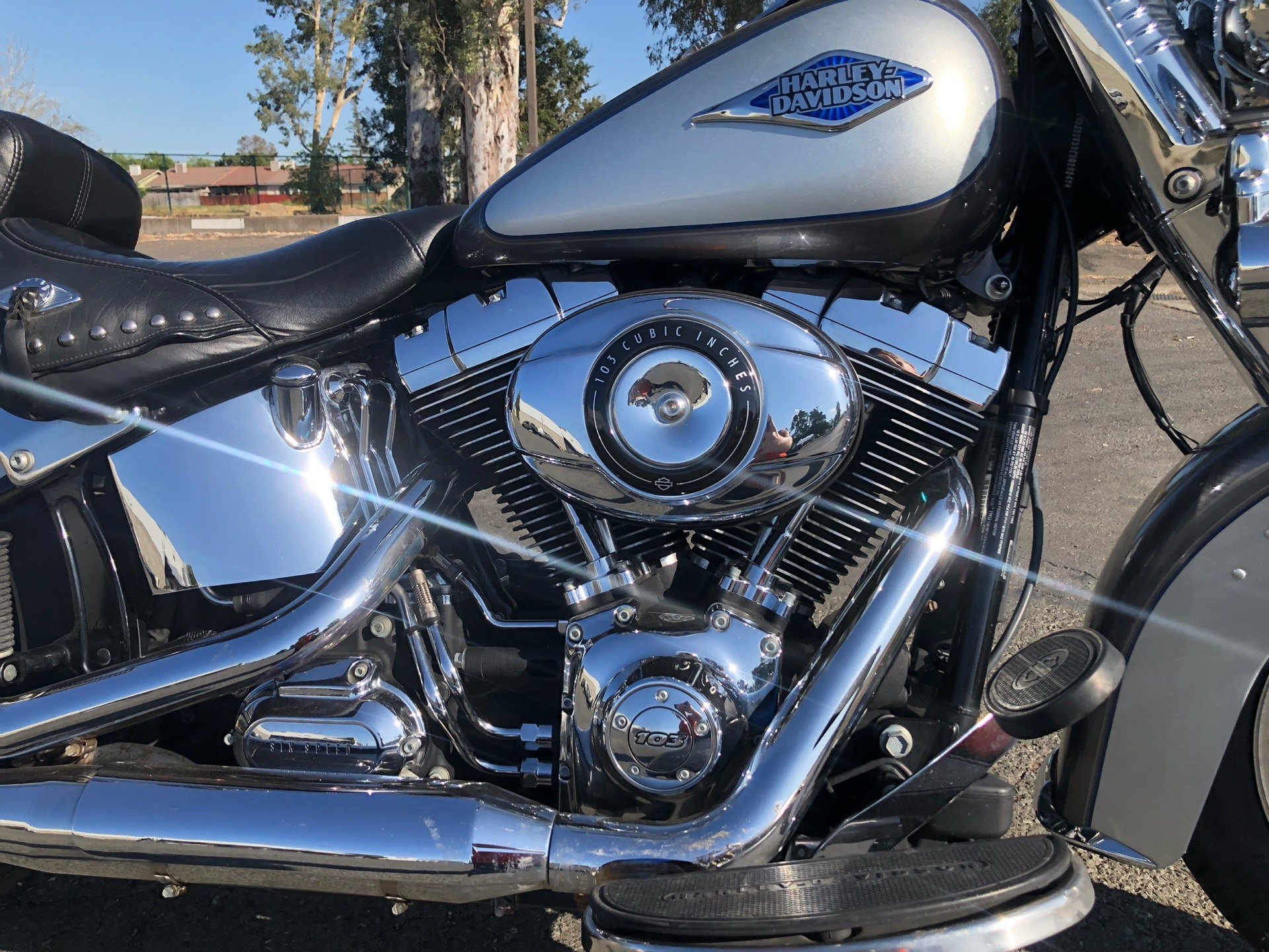 2014 Harley-Davidson Heritage Softail® Classic in Vacaville, California - Photo 4