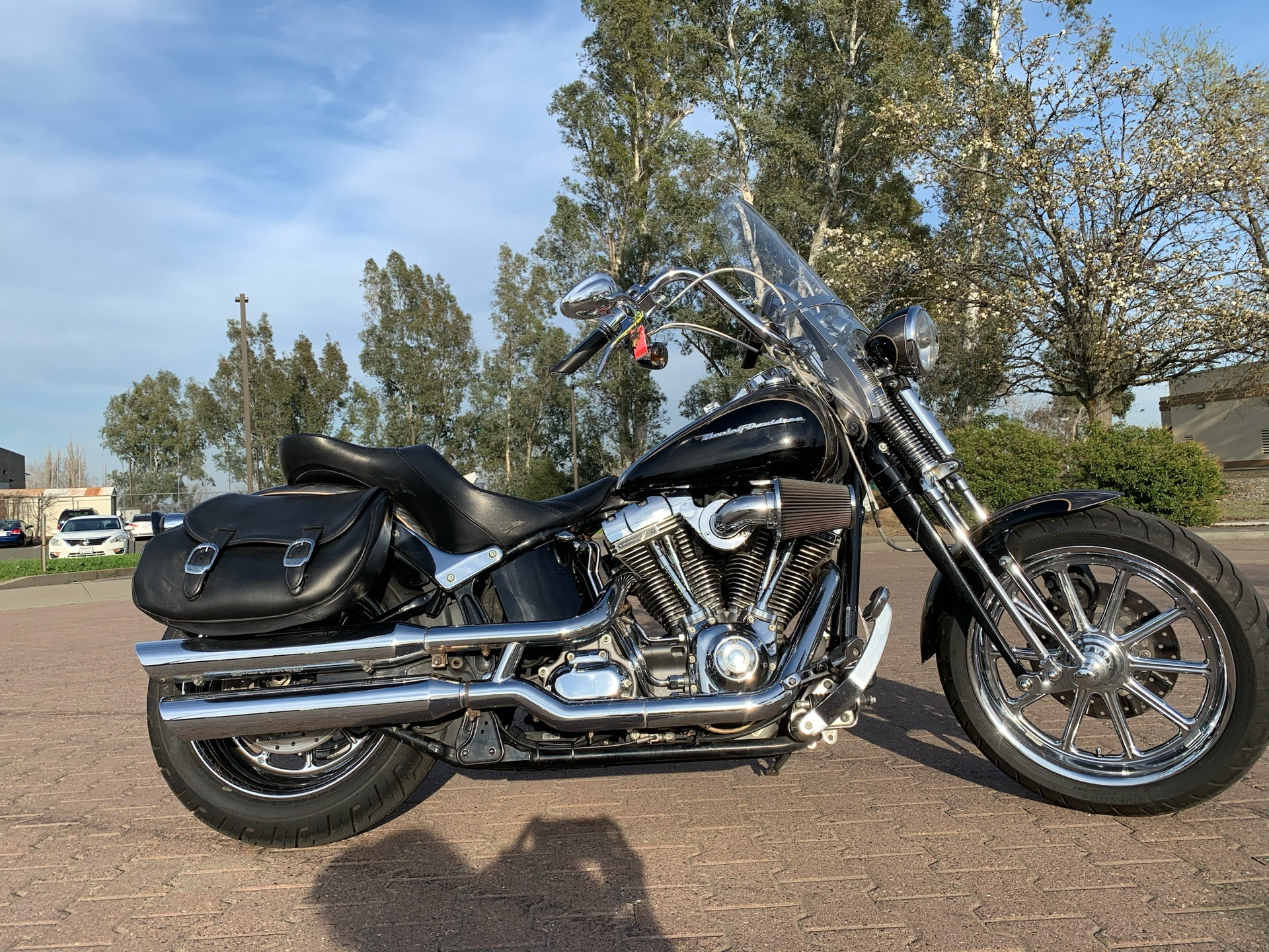 2008 Harley-Davidson CVO™ Screamin' Eagle® Softail® Springer® in Vacaville, California - Photo 2