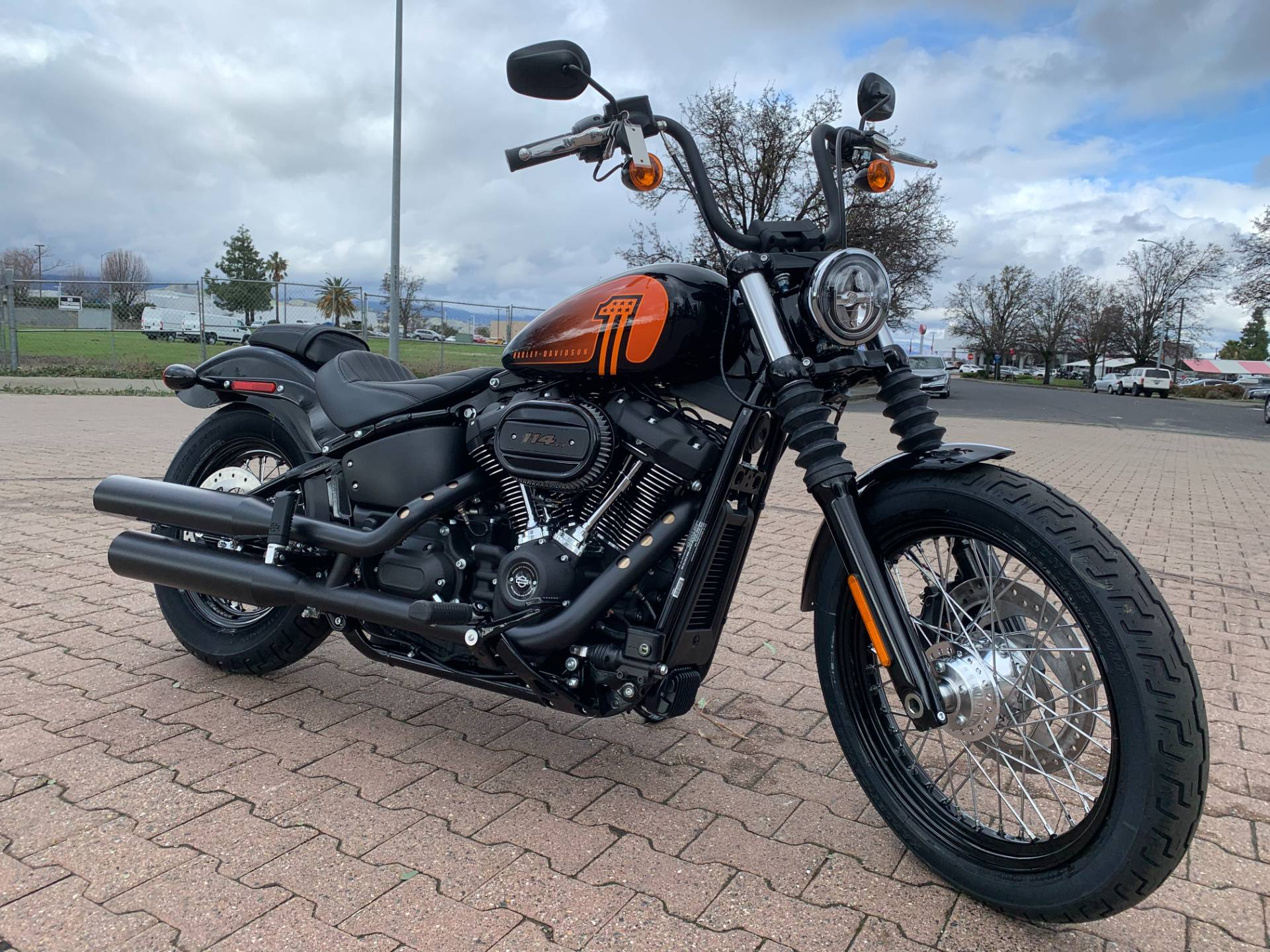2021 Harley-Davidson Street Bob® 114 in Vacaville, California - Photo 1