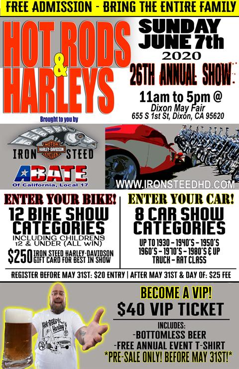 Hot Rods & Harley's 2020