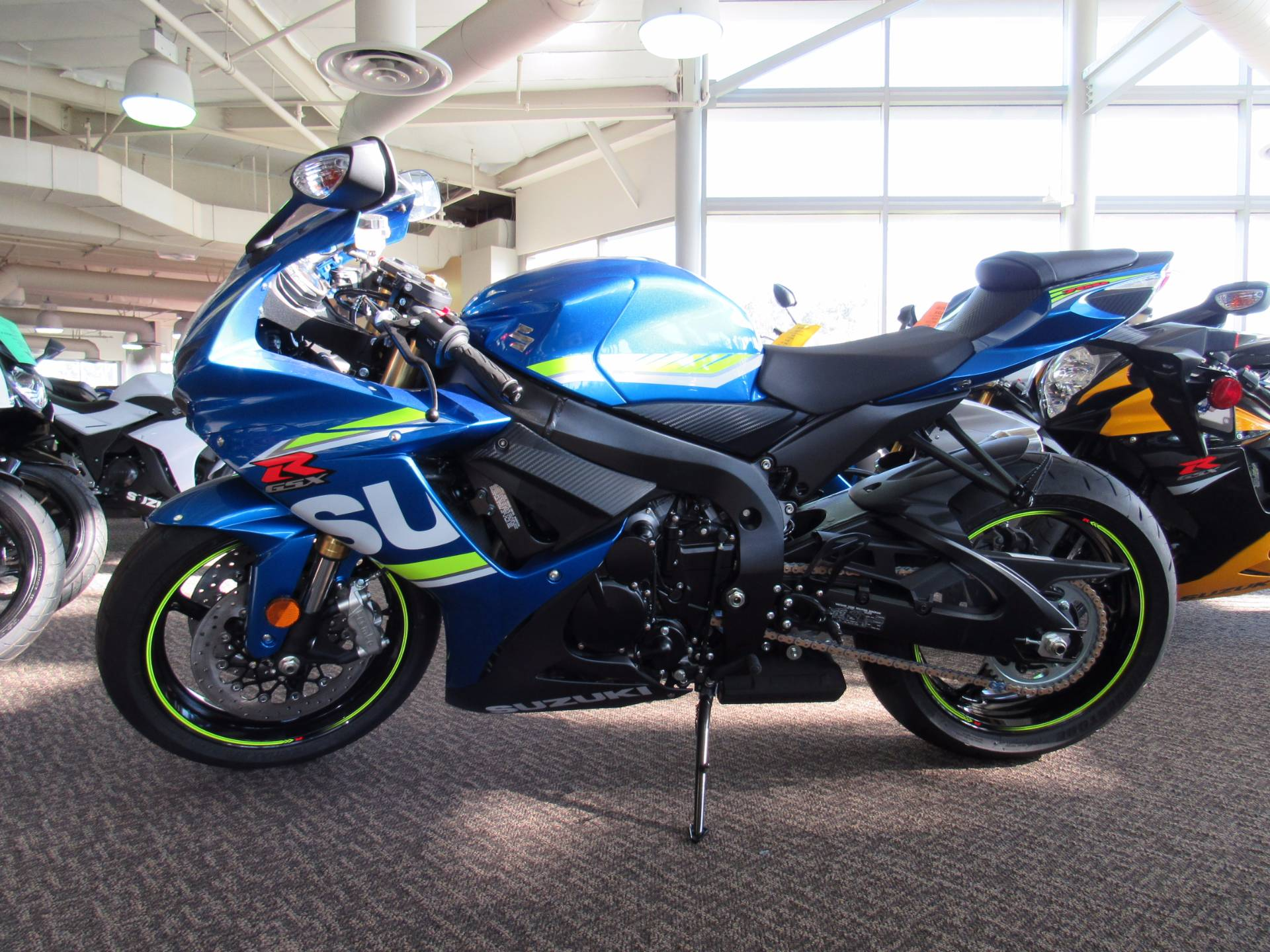 2017 Suzuki GSX-R750 in Irvine, California