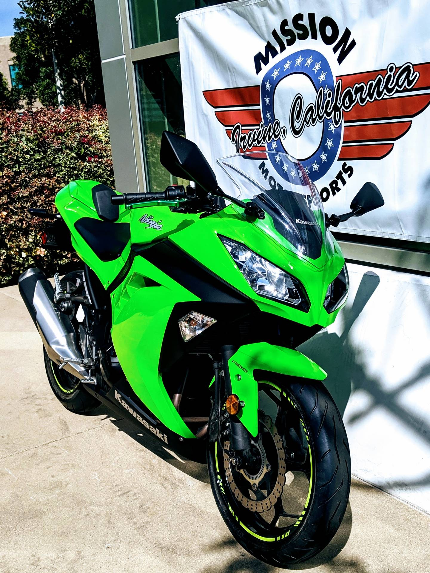 2015 Kawasaki Ninja® 300 ABS in Irvine, California - Photo 2